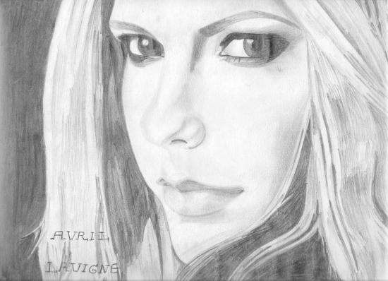 Avril Lavigne por Yanis_dessin